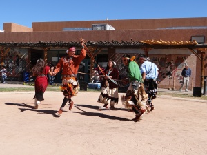 Navajo Weaving Dance at Pueblo Cultural Center 20121014