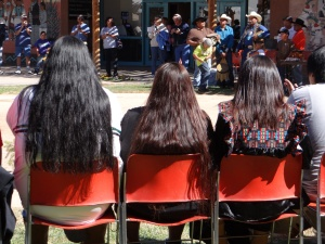 Watching the White Mountain Apache Dances 20121014