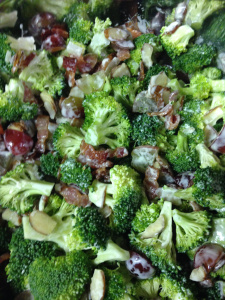 Bacon, Grape, and Broccoli Salad
